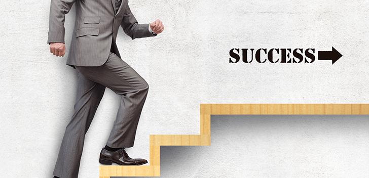 成功へのステップアップ