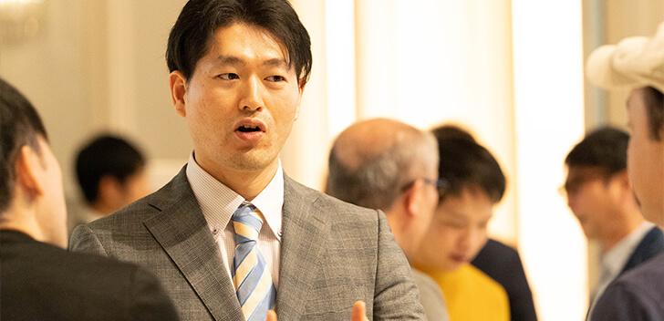藤田昌宏さんとアフィリエイターさんの交流の様子