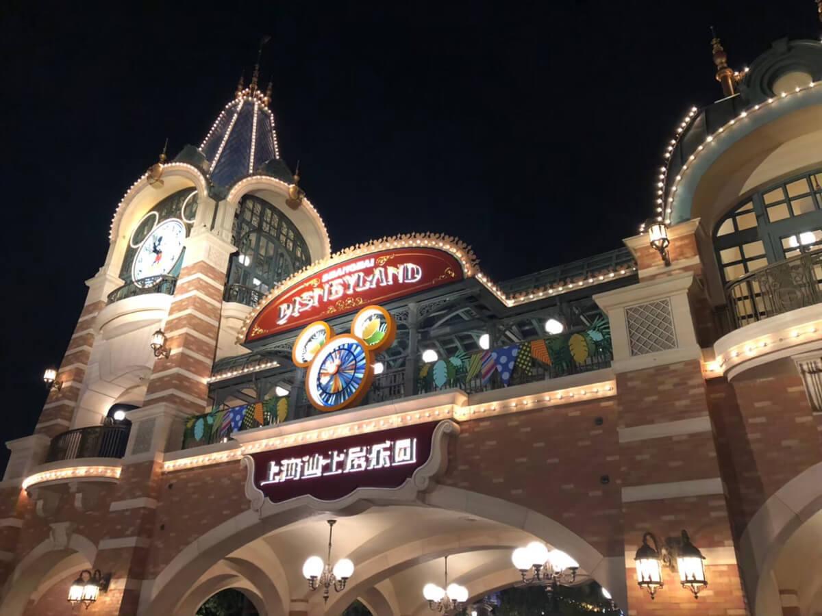 上海ディズニー